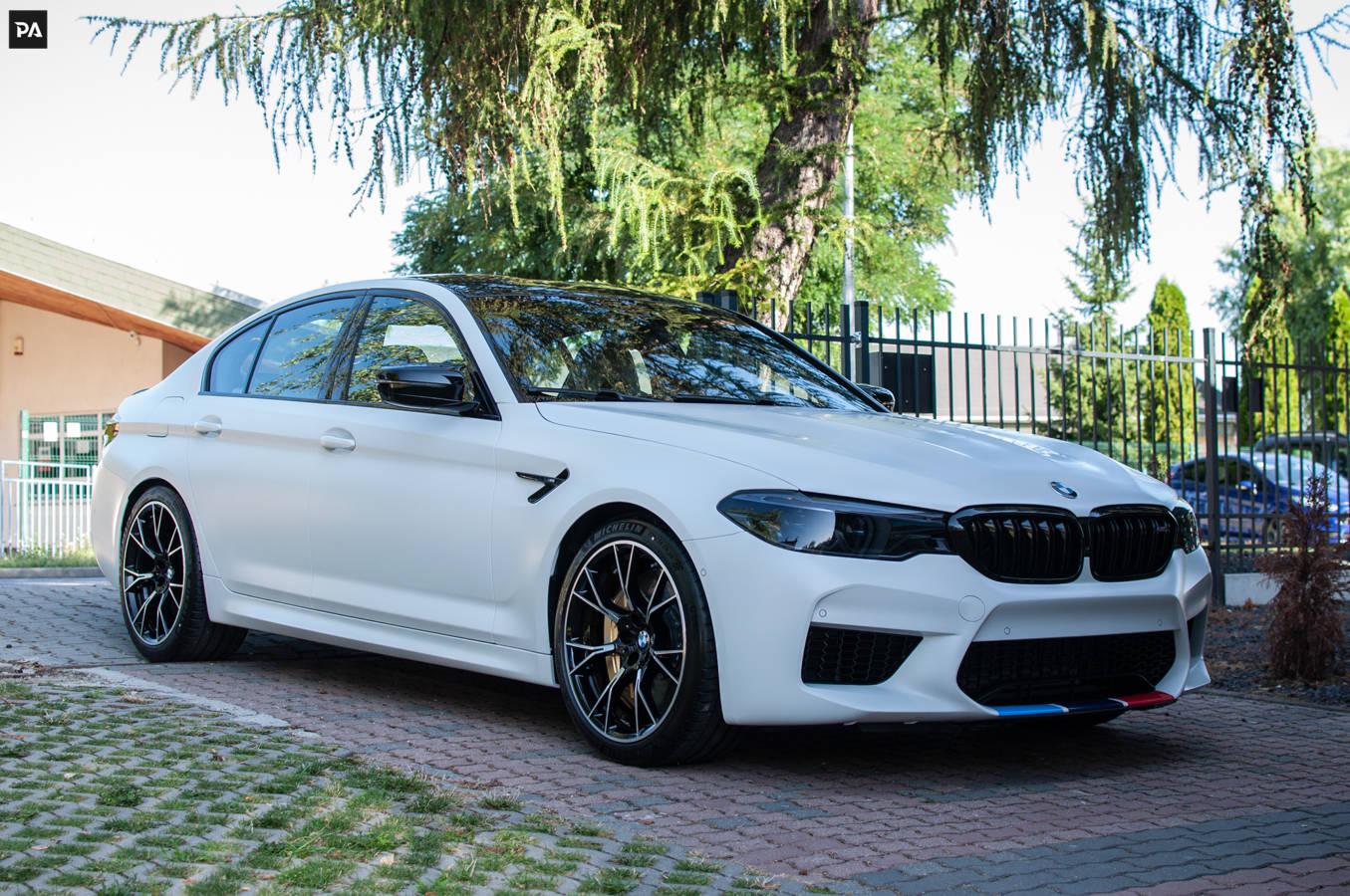 Matowa folia ochronna PPF BMW